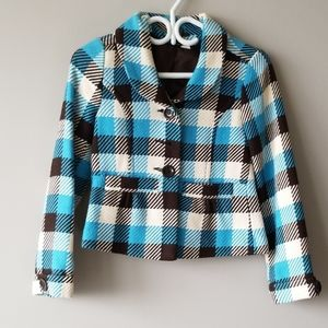 Divided by H&M Short Peacoat style Jacket